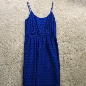 Blue Madewell dress